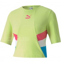 ДАМСКА ТЕНИСКА PUMA TFS RETRO CROP TOP VOLT