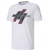 МЪЖКА ТЕНИСКА PUMA BMW MMS LIFE GRAPHIC TEE WHITE