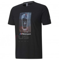 МЪЖКА ТЕНИСКА PUMA BMW MMS GRAPHIC TEE BLACK