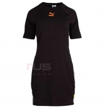 ДАМСКА РОКЛЯ PUMA CLASSICS TAPED DRESS BLACK