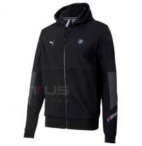 МЪЖКО ГОРНИЩЕ PUMA BMW MMS HOODED SWEAT JACKET BLACK
