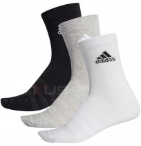 ЧОРАПИ ADIDAS LIGHT CREW 3PP G/W/B