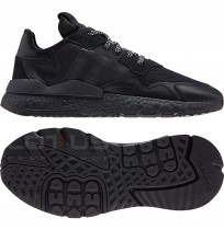 МЪЖКИ МАРАТОНКИ ADIDAS ORIGINALS NITE JOGGER BLACK