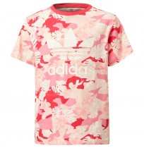 ДЕТСКА ТЕНИСКА ADIDAS TEE PINK/MULTCOR