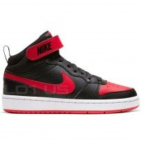 ДЕТСКИ ОБУВКИ NIKE COURT BOROUGH MID 2 GS BLACK/RED