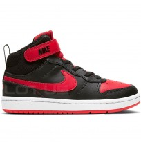 ДЕТСКИ ОБУВКИ NIKE COURT BOROUGH MID 2 PSV BLACK/RED