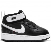 ДЕТСКИ ОБУВКИ NIKE COURT BOROUGH MID 2 TDV BLACK