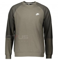 МЪЖКА БЛУЗА NIKE NSW ME TOP LS FLC SNL TWILIGHT MARSH