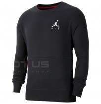 МЪЖКА БЛУЗА NIKE AIR JUMPMAN AIR FLEECE CREW BLACK