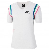 ДАМСКА ТЕНИСКА NIKE NSW HRTG TOP BIRCH HEATHER
