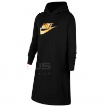 ДЕТСКА РОКЛЯ NIKE NSW SHINE GX HD DRESS PR BLACK