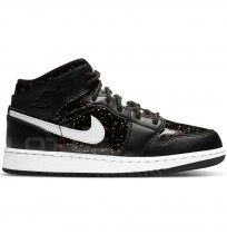 ДЕТСКИ ОБУВКИ NIKE AIR JORDAN 1 MID SE GG BLACK