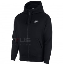 МЪЖКО ГОРНИЩЕ NIKE NSW CLUB HOODIE FZ BB BLACK