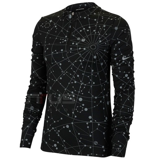 ДАМСКА БЛУЗА NIKE ELMNT FLSH TOP HZ RNWY BLACK