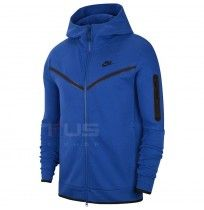 МЪЖКО ГОРНИЩЕ NIKE NSW TCH FLC HOODIE FZ GAME ROYAL