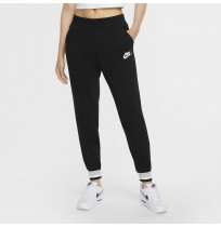 ДАМСКО ДОЛНИЩЕ NIKE NSW HRTG PANT FLC BLACK/WHITE