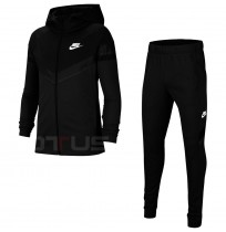 ДЕТСКИ СПОРТЕН ЕКИП NIKE NSW POLY WVN OVRLY TRACKSUIT BLACK