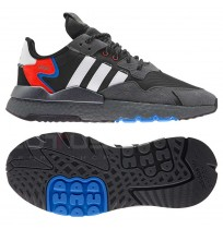 МЪЖКИ МАРАТОНКИ ADIDAS ORIGINALS NITE JOGGER BLACK/WHITE