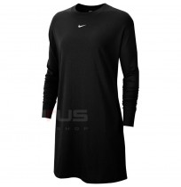 ДАМСКА РОКЛЯ NIKE NSW ESSNTL DRESS LS BLACK