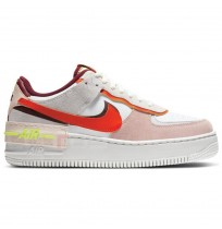 ДАМСКИ ОБУВКИ NIKE AF1 SHADOW WHITE/DUST/ORANGE