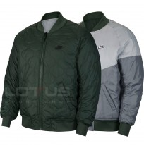 МЪЖКО ЯКЕ NIKE NSW HE WR HD REV INSLTD JKT JADE/LT GREY