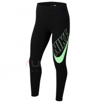 ДЕТСКИ КЛИН NIKE NSW FAVORITES GX LEGGING BLACK/GREEN