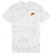 МЪЖКА ТЕНИСКА NIKE NSW TEE SPRING BREAK AOP WHITE