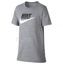 ДЕТСКА ТЕНИСКА NIKE NSW TEE FUTURA ICON TD CRBN HEATHER