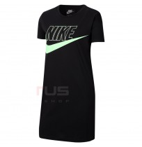 ДЕТСКА РОКЛЯ NIKE NSW FUTURA TSHIRT DRESS BLACK