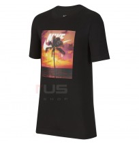 ДЕТСКА ТЕНИСКА NIKE NSW TEE NIKE AIR PHOTO PALM BLACK