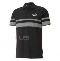 МЪЖКА ТЕНИСКА PUMA ESS STRIPE POLO BLACK