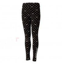 ДЕТСКИ КЛИН PUMA GRAPHIC AOP LEGGINGS G BLACK
