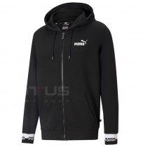 МЪЖКО ГОРНИЩЕ PUMA AMPLIFIED FZ HOODIE TR BLACK