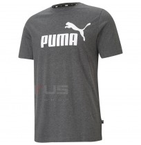 МЪЖКА ТЕНИСКА PUMA ESS HEATHER TEE BLACK