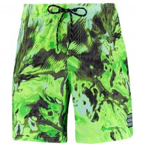 МЪЖКИ ПЛУВНИ ШОРТИ PUMA SWIM MEN REFLECTION AOP GREEN/YELLOW