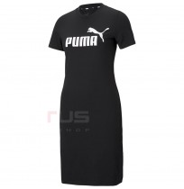 ДАМСКА РОКЛЯ PUMA ESS SLIM TEE DRESS BLACK