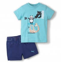 БЕБЕШКИ ЕКИП PUMA PAW INFANTS SET BLUE