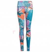 ДЕТСКИ КЛИН ADIDAS G A.R.AOP TIGHT WHITE/BLUE/ORANGE
