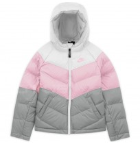 ДЕТСКО ЯКЕ NIKE NSW SYNTHETIC FILL JACKET WHITE/PINK/GREY