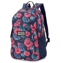 РАНИЦА PUMA ACADEMY BACKPACK BLUE FLORAL