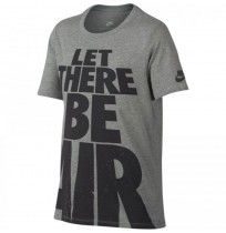 ДЕТСКА ТЕНИСКА NIKE TEE LET THERE BE AIR GREY