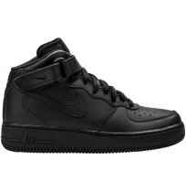 ДЕТСКИ КЕЦОВЕ NIKE AIR FORCE 1 MID (GS) BLACK