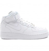 ДЕТСКИ КЕЦОВЕ NIKE AIR FORCE 1 MID (GS) WHITE