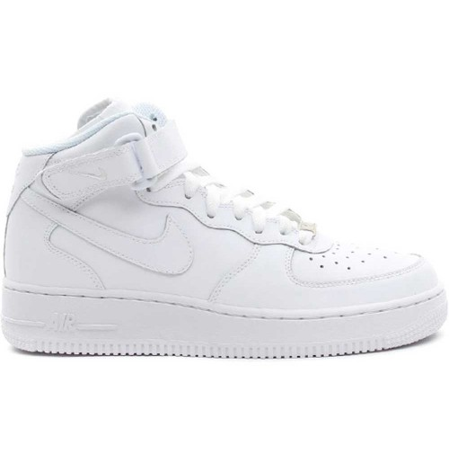 ДЕТСКИ КЕЦОВЕ AIR FORCE 1 MID (GS) WHITE