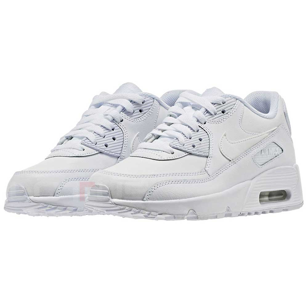 ad9446c1 ДЕТСКИ МАРАТОНКИ NIKE AIR MAX 90 LTR (GS) WHITE | Lotus Sport