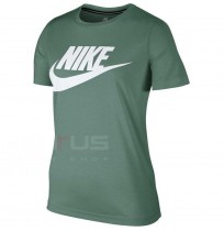 ДАМСКА ТЕНИСКА NIKE NSW ESSNTL TOP HBR SEQUOIA