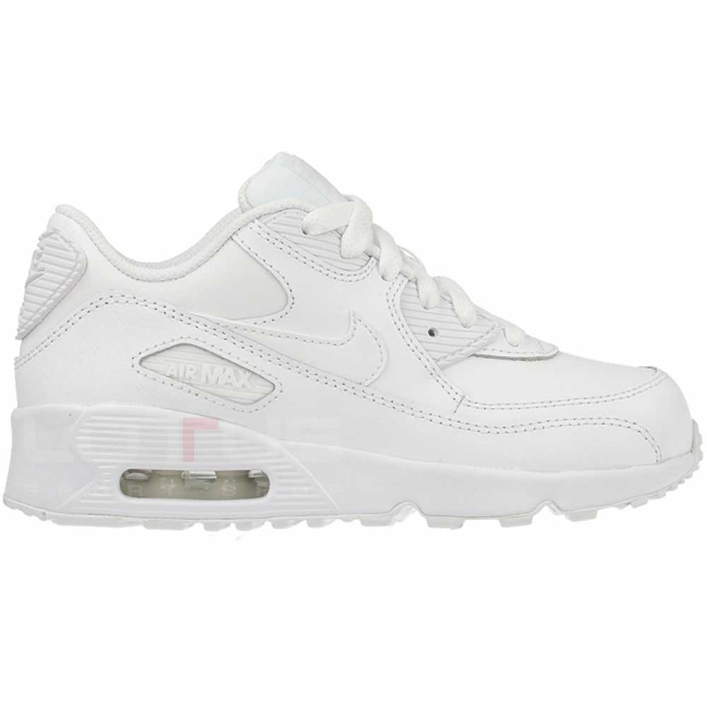 31cf942d ДЕТСКИ МАРАТОНКИ NIKE AIR MAX 90 LTR (PS) WHITE | Lotus Sport