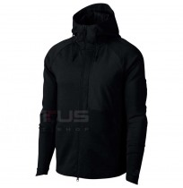 МЪЖКО ГОРНИЩЕ NIKE NSW TCH FLC JKT HD SSNL BLACK