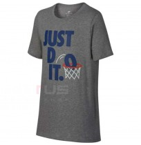 ДЕТСКА ТЕНИСКА NIKE NSW TEE JDI DUNK GREY