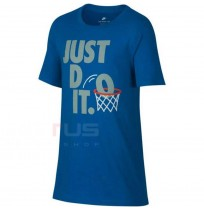 ДЕТСКА ТЕНИСКА NIKE NSW TEE JDI DUNK BLUE
